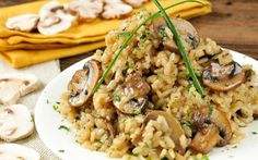 Truffled Mushroom Risotto [Vegan, Gluten-Free] | One Green Planet