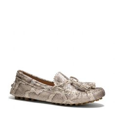 The Nadia Snake Loafer from Coach