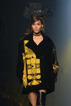Jean Paul-Gaultier - The Couture collections up-close | Harper's Bazaar