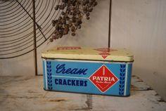 Patria crackers blik