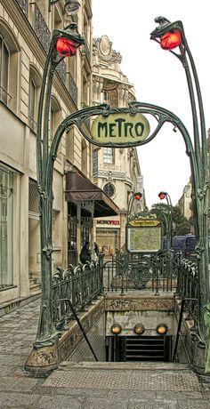Reaumur-Sebastopol, Paris - Por Eric Parker / http://www.flickr.com/photos/ericparker/2642401918/