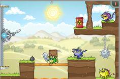 Divertido juego donde tienes que eliminar a estas criaturas que encuentres en cada nivel. ► http://www.ispajuegos.com/jugar8490-Laser-Cannon-LP-3.html