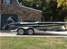 Used 1999 Bass Cat Boats Cougar with upgrades in Afton, OK. $13,600.