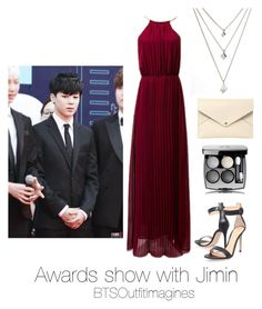 """Awards show with Jimin"" by bts-outfit-imagines on Polyvore featuring Gianvito Rossi and Louis Vuitton"