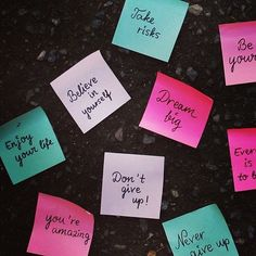 Post-It Note Motivation For Weight Loss Motivational Posts, Inspirational Quotes, Self Quotes, Life Quotes, Happy Quotes, Art Quotes, Notes For Friends, Mirror Quotes, All The Bright Places