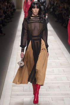Fendi Autumn/Winter 2017 Ready to Wear Collection