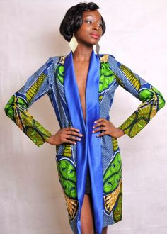 ed8b83e65a7c 30 Ankara Kimono Jackets For Every Fashionista