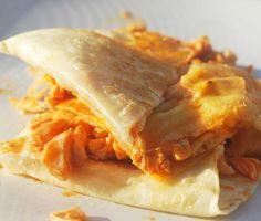 Buffalo Chicken Quesadillas - 6 pts.