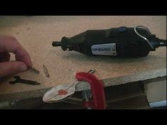 How to Carve a Spoon with a Dremel - YouTube