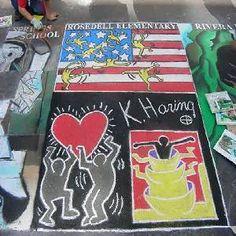 Street Art Project | HaringKids Lesson Plans