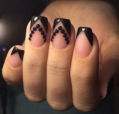 #nails #uñas #perfect #black #negro #blacknails #perfectnails #naturalnails #perfecto
