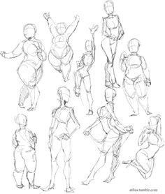 body types poses