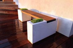 Build your own planter bench!