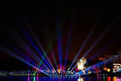 Magic of the Night Boat Parade Putrajaya, Malaysia