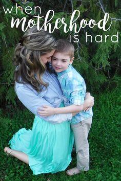 When motherhood is h
