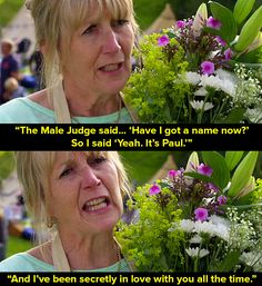 """When Nancy kept calling Paul """"The Male Judge."""" 