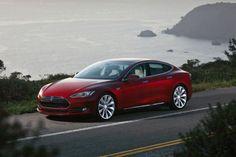 Tesla Model S berline électrique incendie