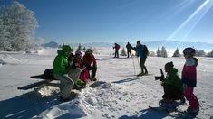 la station-village d'Autrans - Méaudre en Vercors est appréciée par les familles et les débutants pour son domaine skiable.  Copyright: Autrans Méaudre Tourisme