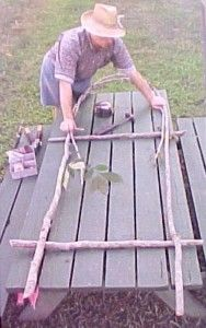 Making Bent Wood Trellis~arbor Gate Fence Building Home~green Work Rustic Garden