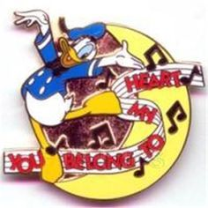 MAGICAL Musical MOMENTS #10 DONALD DUCK- YOU BELONG TO MY HEART 2002 DISNEY PIN