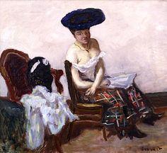 Le Jupon Ecossais, 1907, Pierre Bonnard