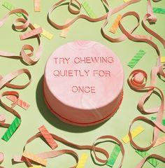 Chew Quietly Cake