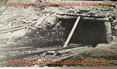 Anthracite coal mine near Hazelton PA. R.M.Roche collection