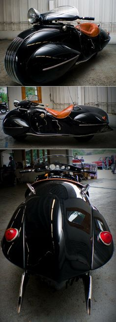 Beautiful motorcycle from 1936 by O. Ray Courtney - Mariusz Ciesla