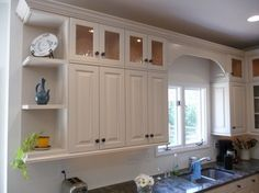 Find This Pin And More On Kitchens Added Upper Cabinets