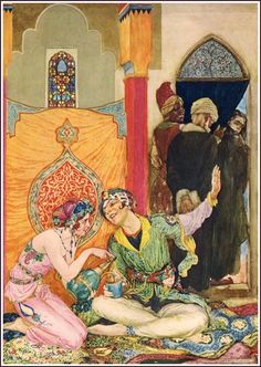 Willy Pogany. #WillyPogany #ArabianNights