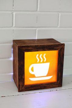 Antic&Chic. Decoración Vintage y Eco Chic: [DIY] Cómo hacer una caja de luz