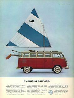 Le vecchie pubblicità del Volkswagen T2 - Il Post