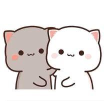 Cute Cartoon Pictures, Cute Love Pictures, Cute Images, Cute Anime Cat, Cute Cat Gif, Chibi Cat, Cute Chibi, Cute Baby Quotes, Cute Bear Drawings