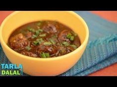 Vegetable Manchurian by Tarla Dalal