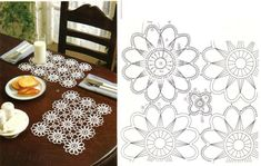 Free Crochet Doily Pattern for Meal
