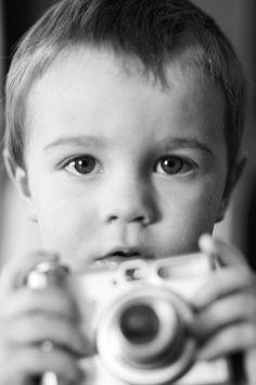 my little photographer. kids. photography.