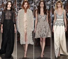 Jenny Packham Fall/Winter 2016 collection at NYFW