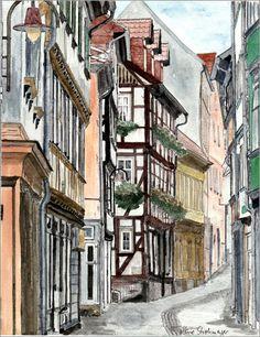 Wunderschönes Deutschland 2: Poster & Kunstdruck von Marie Luise Strohmenger