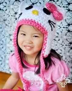 Kitty Hat by NoodleNoggins on Etsy, $38.00
