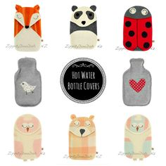 Hot water bottles would make the overnight flight so much better! And make good christmas gifts.