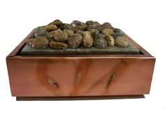 tabletop fountain Copper Top Table, Table Fountain, Tabletop, Home Remodeling, Food, Table, Meals, Yemek, Eten