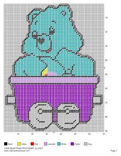 Care Bear Train Set 9