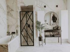 Bad Inspiration, Bathroom Inspiration, Oversized Mirror, Lens, Interior Design, Furniture, Home Decor, Mood, Design Interiors