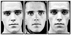 Claire Felicie | Here Are The Young Men (marked) - Sjoerd age 22 Before during after deployment.