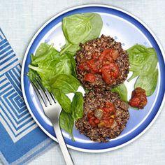 Panquecas de quinoa