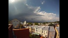 Video of the Day: Thunderstorm Sunset in Brooklyn