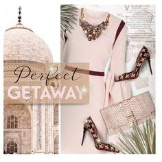 Perfect Getaway by kearalachelle on Polyvore featuring Roksanda, Dolce&Gabbana, Lanvin, GUESS and lovefromabove