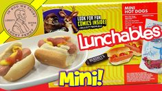 These were tasty mini hot dogs and one of the better Lunchables I have had. B Food, Junk Food Snacks, Baby Swings And Bouncers, Microwave Dinners, Mini Hot Dogs, Gourmet Hot Dogs, Frozen Pizza, Lunch Room, Hot Dog Buns