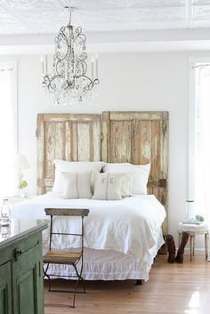 rustic Chic bedrrom Decor | Found on chicpins.com