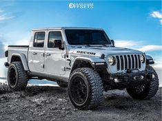 This 2020 Jeep Gladiator is running Hostile Fury wheels Mickey Thompson Baja Boss tires with Mopar Suspension Lift suspension. Jeep Wrangler Lifted, Jeep Wrangler Unlimited, Lifted Jeeps, Jeep Wranglers, Triumph Motorcycles, Bobbers, Mopar, Ducati, Jeep Scout